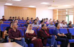 جامعة بوليتكنك فلسطين تستضيف البروفسور محمد نجيم