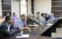 محاضرة حول أسس دعم البحث العلمي